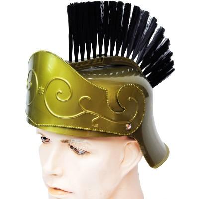 Roman Helmet with Brush