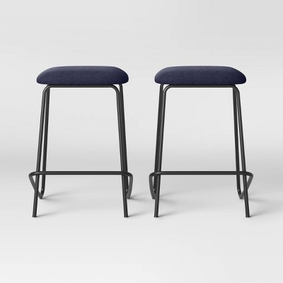 """Set of 2 24"""" Stacking Counter Height Barstools - Room Essentials™"""