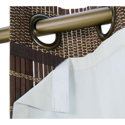Versailles Thermal Liners For Ring Top Bamboo Panels Off-White