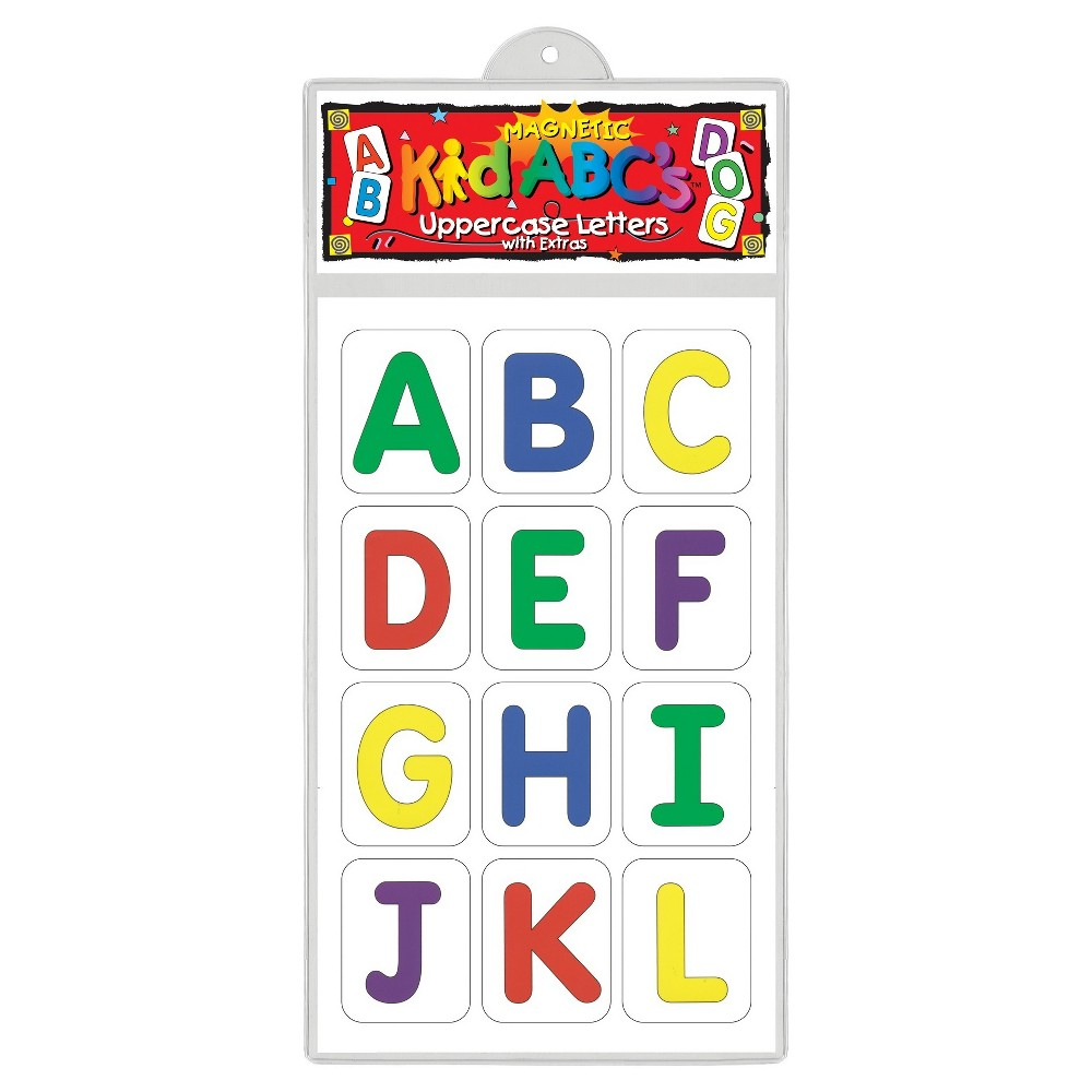 Image of Barker Creek KidABC's Magnets - Uppercase Letters