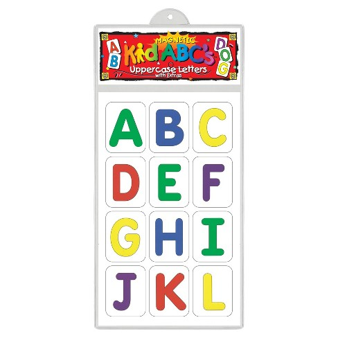 Barker Creek KidABC's Magnets - Uppercase Letters - image 1 of 4