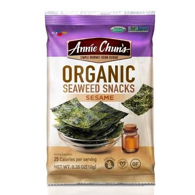 Annie Chun's Sesame Seaweed Chips 0.35oz