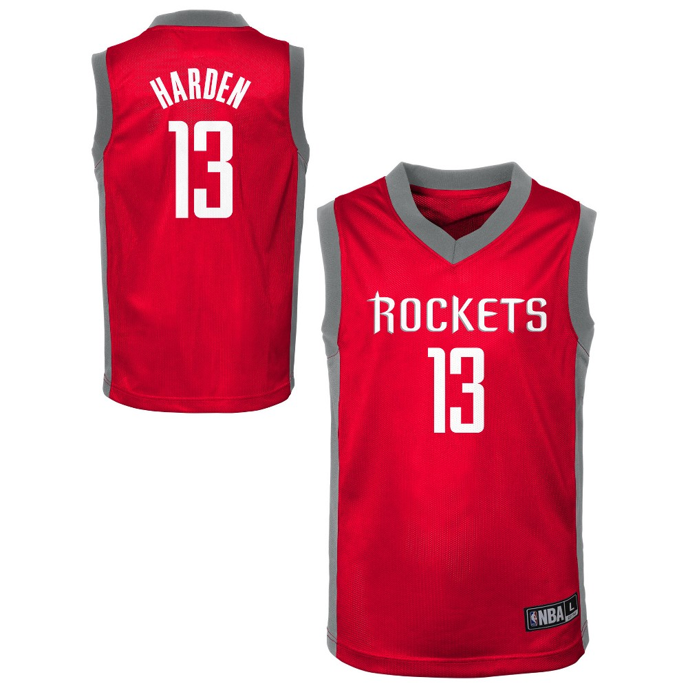 Houston Rockets Toddler Player Jersey 3T, Toddler Boy's, Multicolored