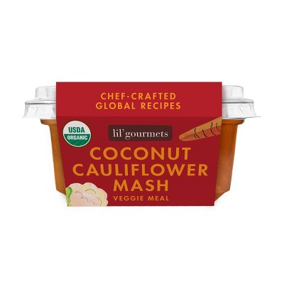 lil' gourmets Organic Coconut Cauliflower Mash Veggie Meal - 3.5oz