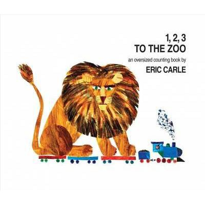 1, 2, 3 to the Zoo - by Eric Carle (Board_book)