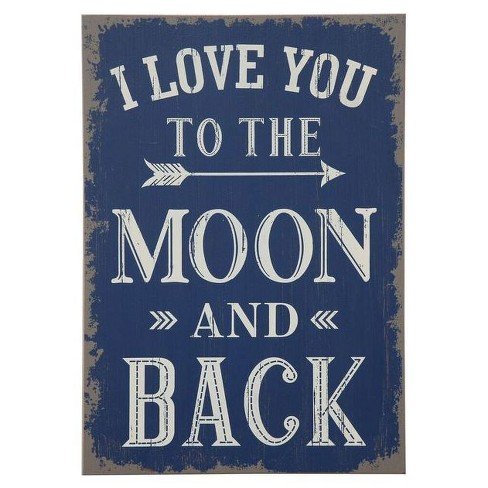 "I Love You Wall Décor (13""x19"") - 3R Studios - image 1 of 1"