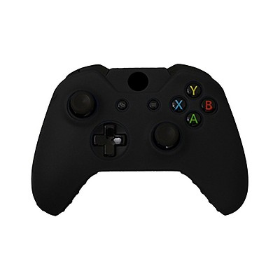 KMD Controller Silicone Grip Case Compatible with Microsoft Xbox One, Black
