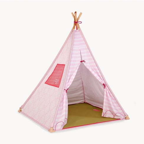 Our Generation Suite Camping Play Tent for Dolls & Kids' - Pink - image 1 of 4