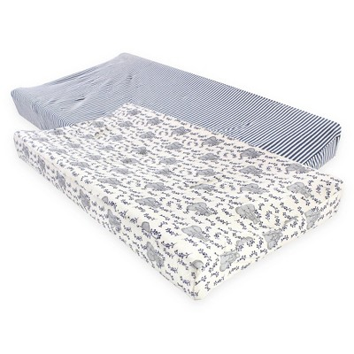 Touched by Nature Unisex Baby Organic Cotton Changing Pad Cover
