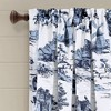 Set of 2 French Country Toile Room Darkening Window Curtain Panels  - Lush Décor - image 2 of 4