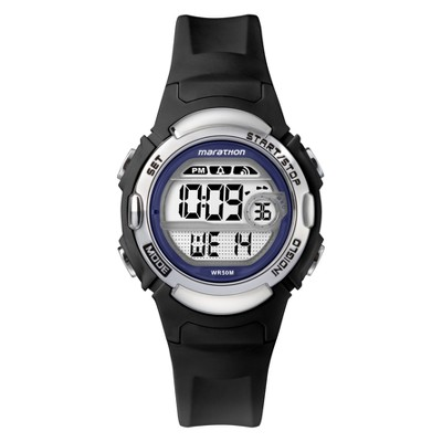 Women's Timex Marathon Digital Watch - Black TW5M14300TG
