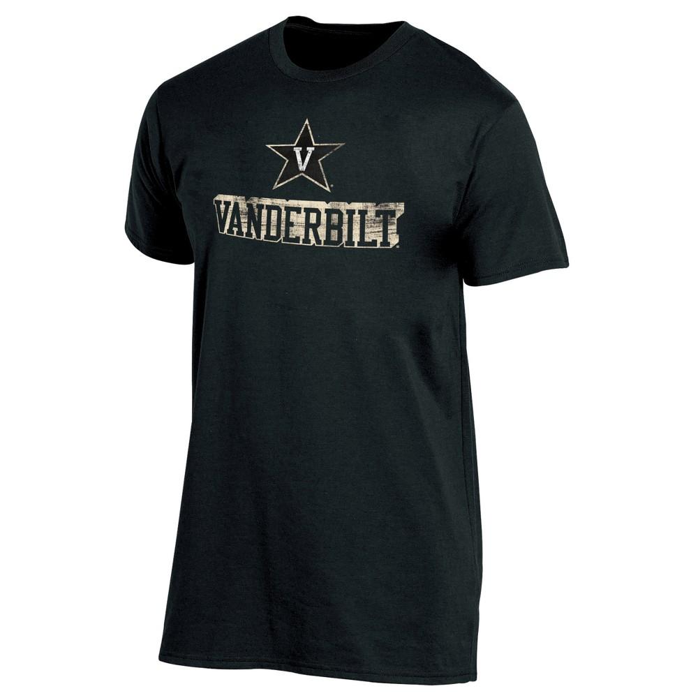 Vanderbilt Commodores Men's Short Sleeve Keep the Lights On Bi-Blend Gray Heathered T-Shirt XL, Multicolored