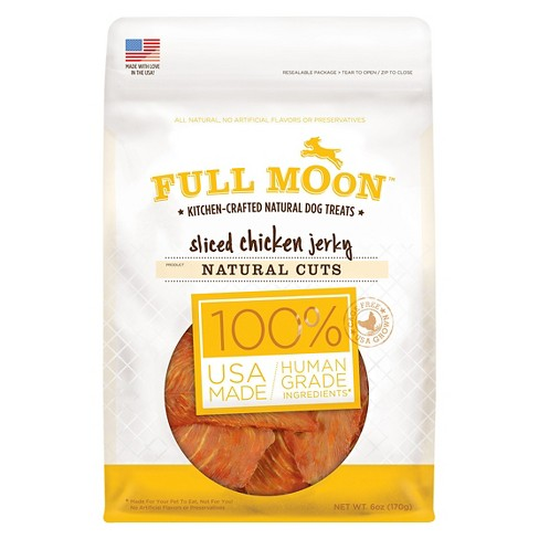 Full Moon Sliced Chicken Jerky Natural Cuts 6oz - image 1 of 2