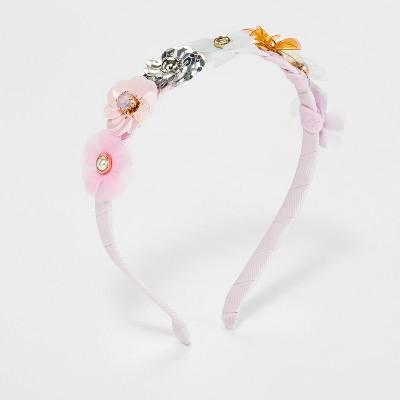 Girls' Flower Sequin Headband - Cat & Jack™