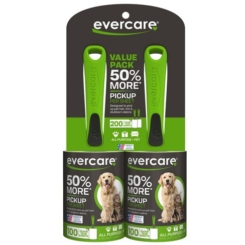 Evercare Pet Lint Roller 100 Sheet Twin Pack - image 1 of 3