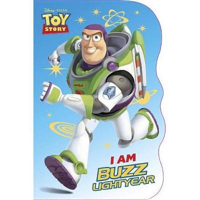 I Am Buzz Lightyear - (Disney Pixar Toy Story) by  Mary Tillworth (Board Book)