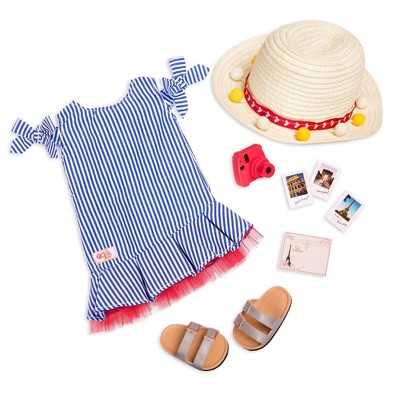 """Our Generation  Sweet Souvenirs Fashion Outfit for 18"""" Dolls"""
