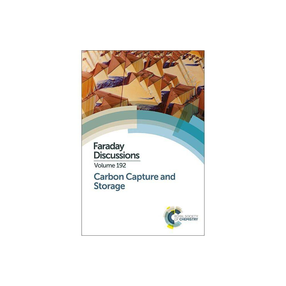 Carbon Capture and Storage - (Faraday Discussions) (Hardcover)