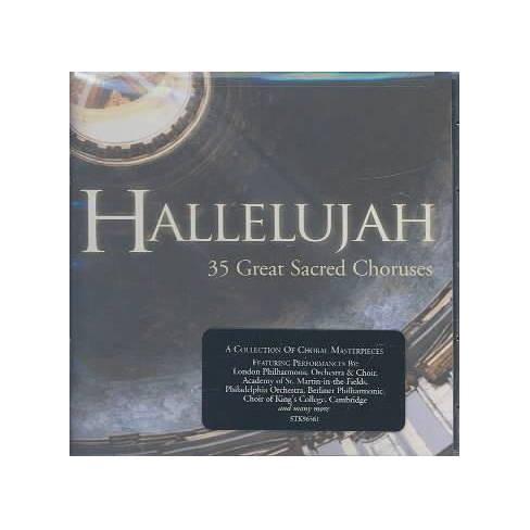 Various - Hallelujah: 35 Great Sacred Choruses (CD) - image 1 of 1