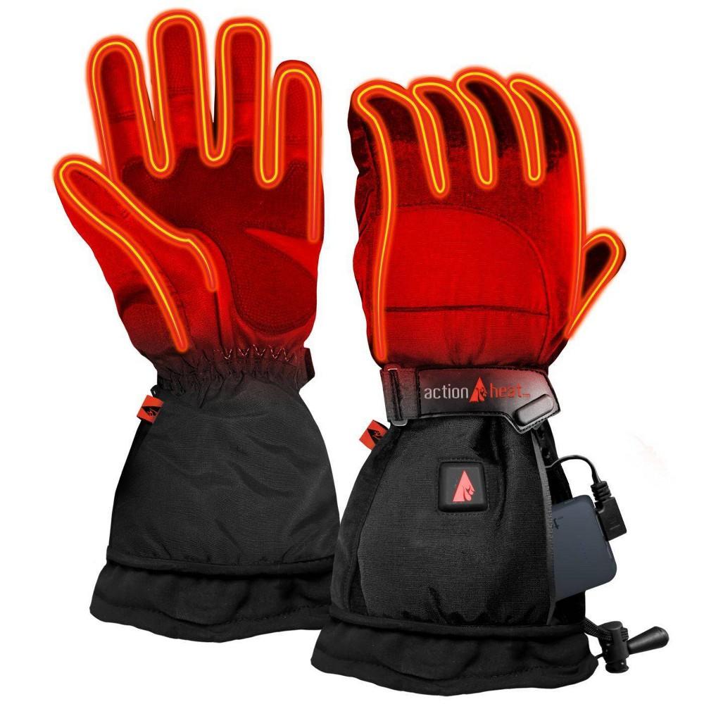 Actionheat 5v Battery Heated Women 39 S Snow Glove Black Xl