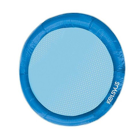 SwimWays 80106 Float A Round Swimming Pool Mesh Seat Adult Floating Chair,  Blue