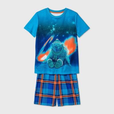 Boys' 2pc Polar Bear Pajama Set - Cat & Jack™ Blue M