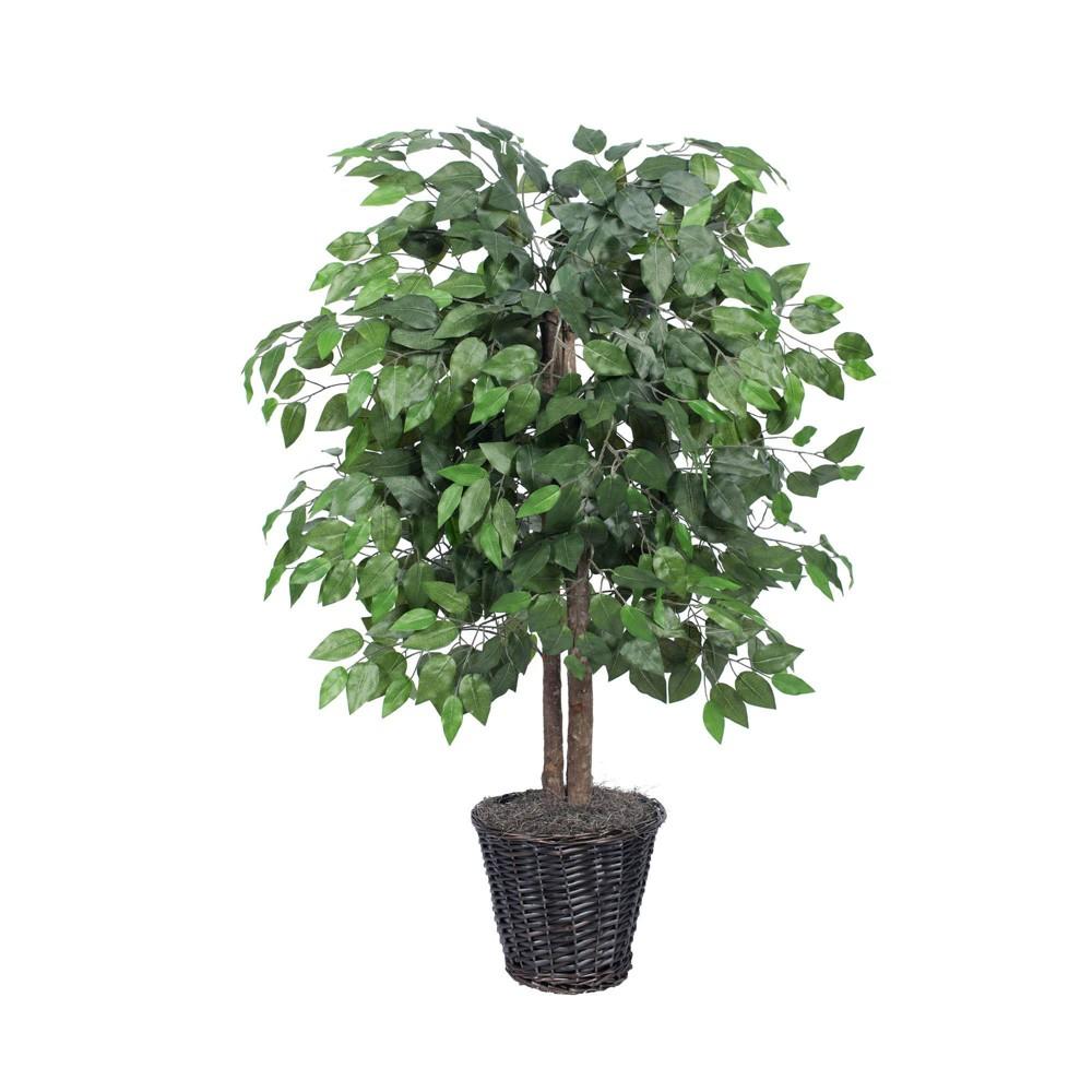4 34 Artificial Ficus Bush Vickermanvickerman