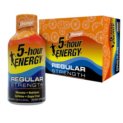 5 Hour Energy Shot - Orange - 12ct