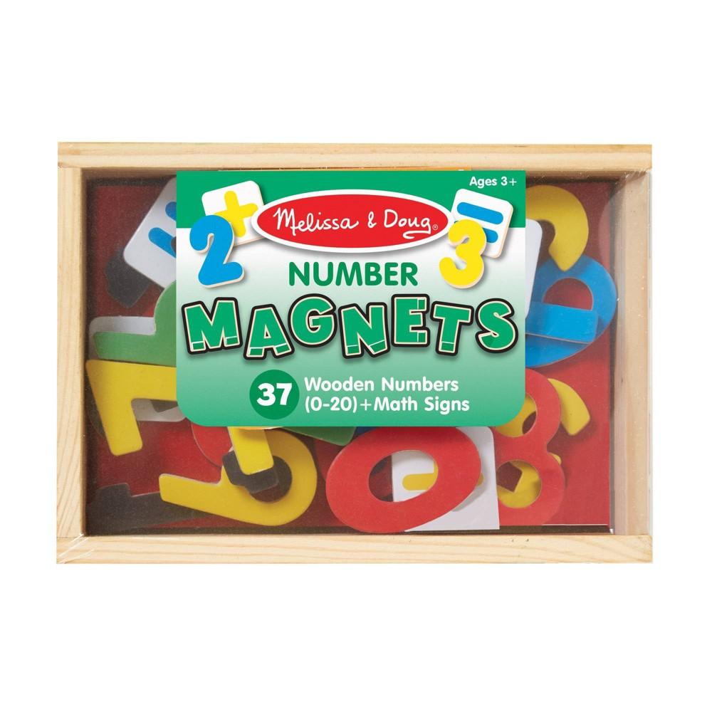 Melissa 38 Doug Magnetic Wooden Numbers