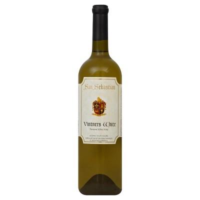San Sebastian Vintners White Wine - 750ml Bottle