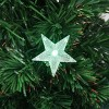 Northlight 3' Prelit Artificial Christmas Tree Color Changing Fiber Optic LED - image 2 of 2