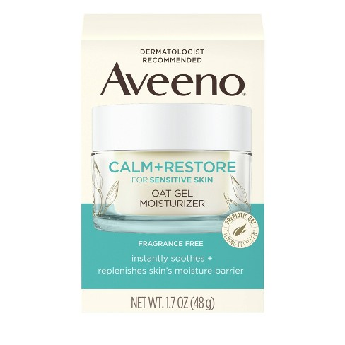 Aveeno Calm and Restore Oat Gel Moisturizer - Unscented - 1.7oz - image 1 of 4