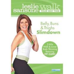 Leslie Sansone: Walk Your Way Thin - Belly, Buns & Thighs Slimdown (DVD)