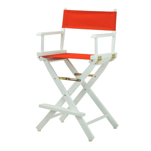 Counter Height Director's Chair - Red - Casual Home