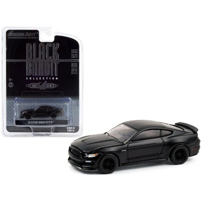 "2016 Ford Mustang Shelby GT350 ""Black Bandit"" Series 24 1/64 Diecast Model Car by Greenlight"