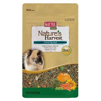 Kaytee Nature's Harvest Guinea Pig Small Animal Food - 4lbs