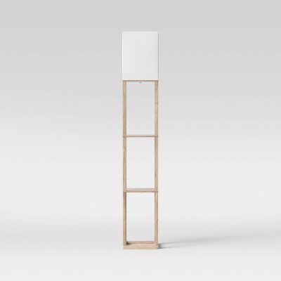 Shelf Floor Lamp Light Wood - Threshold™