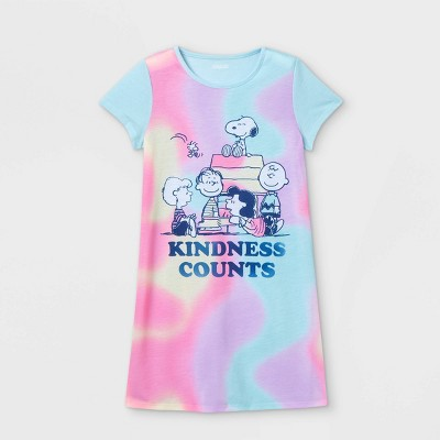 Girls' Peanuts 'Kindness Counts' Nightgown