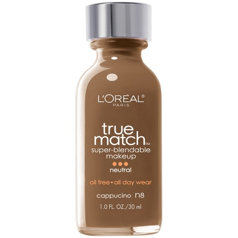 L'Oreal® Paris True Match Super-Blendable Makeup - Deep Shades - 1.0 fl oz - image 1 of 3