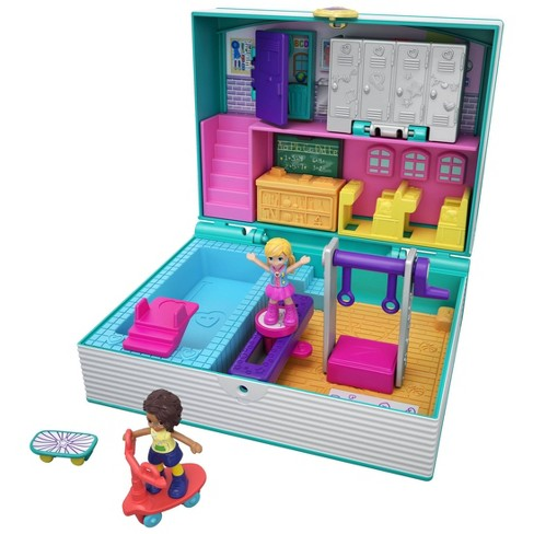 Polly Pocket Mini Middle School Playset - image 1 of 4