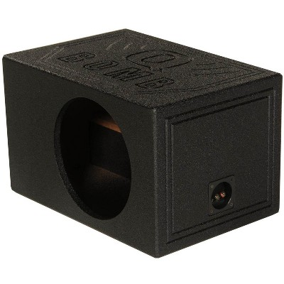 "QPower QBOMB12VL Single 12"" Vented Ported Car Subwoofer Sub Box Enclosure QBOMB"