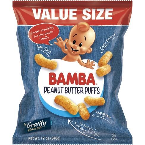 Osem Bamba Peanut Butter Puffs Baby Snacks - 12oz - image 1 of 3