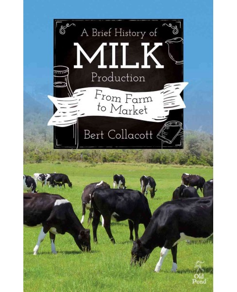 Brief History of Milk Production : From Farm to Market (Paperback) (Bert Collacott) - image 1 of 1