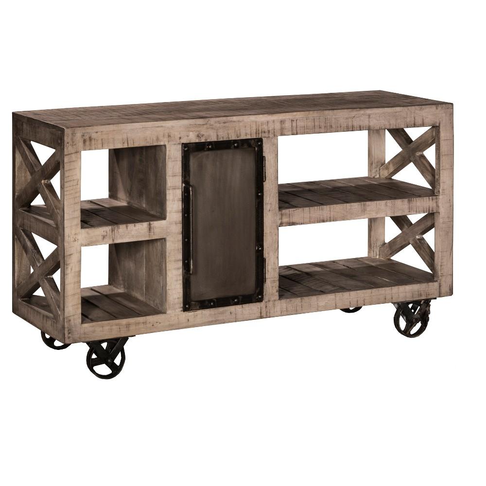 Bridgewater Trolly Server - Brushed Tan - Hillsdale Furniture