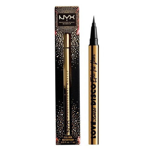 NYX Professional Makeup Holiday Love Lust Disco Epic Ink Eyeliner Limited Edition - 0.03 fl oz - image 1 of 4