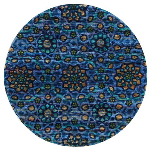 Loloi Aria Accent Rug - Blue (3' Round) - image 1 of 1