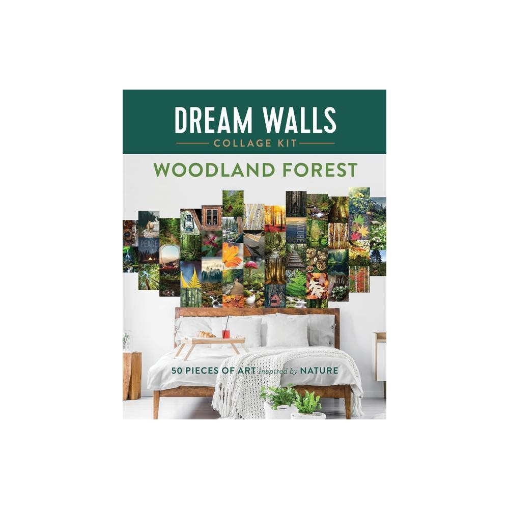 Dream Walls Collage Kit Woodland Forest By Chloe Standish Paperback