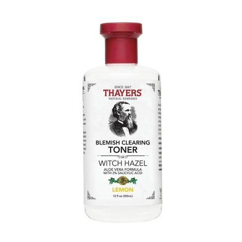 Thayers Witch Hazel Lemon Blemish Clearing Toner - 12 fl oz - image 1 of 3