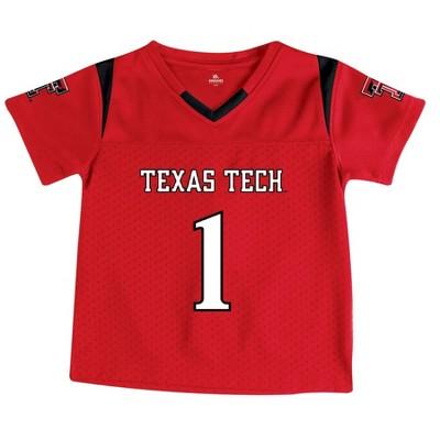 NCAA Texas Tech Red Raiders Toddler Boys' Short Sleeve Jersey