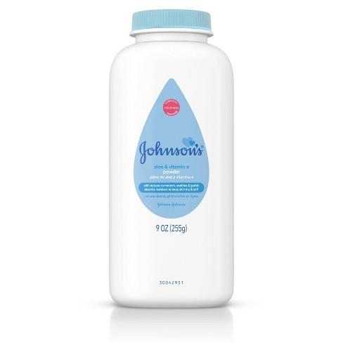 Johnson's White Baby Powder with Cornstarch - 9oz - image 1 of 4